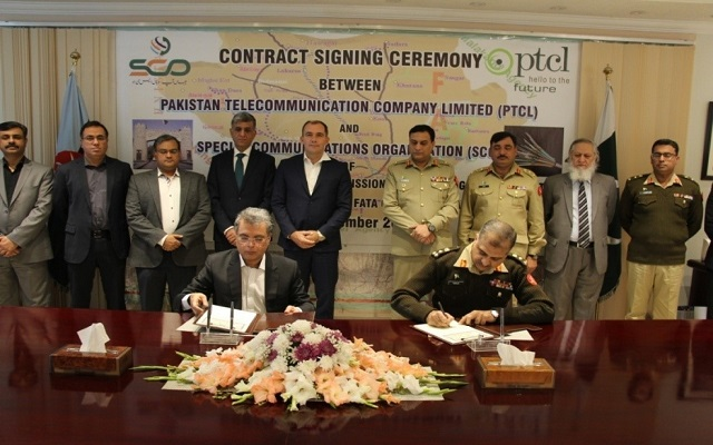 SCO and PTCL Join Hands to Lay Optical Fibre Cable in FATA