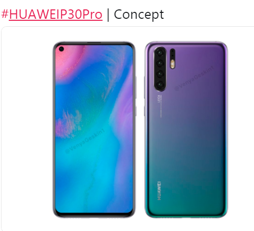 Huawei P30 Pro Is Tipped To Feature Curved Display