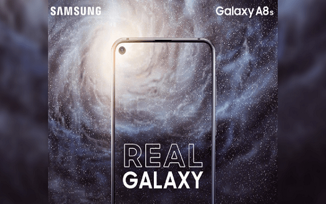 Samsung Galaxy A8s to Launch Today