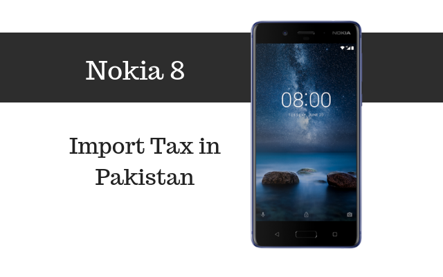 Nokia 8 tax