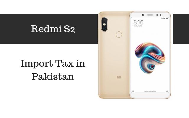 redmi s2 tax