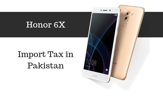 Honor 6x tax
