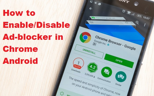 Ad-blocker in Chrome Android