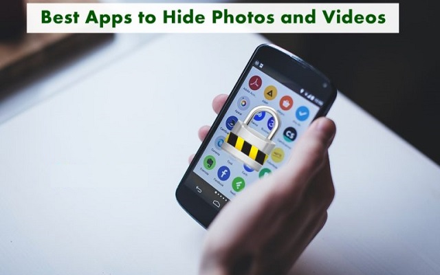 How to hide pics and videos on android