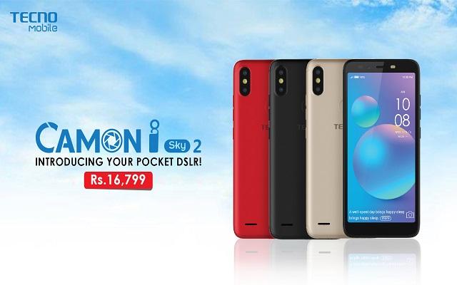 TECNO CAMON i Sky2 First Budget Smartphone With 3 AI Cameras
