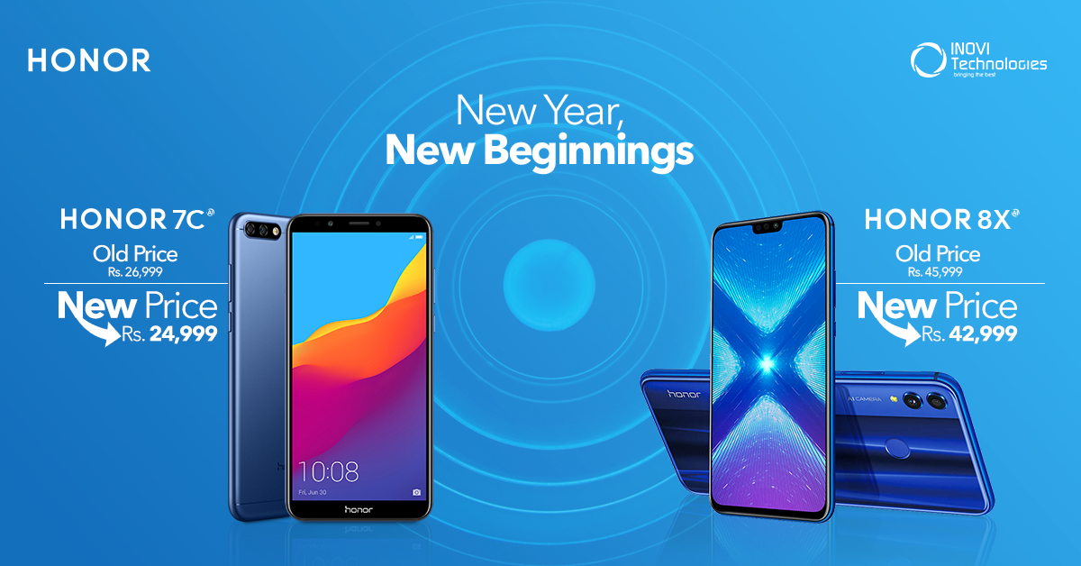 Honor Pricing-7c & 8x