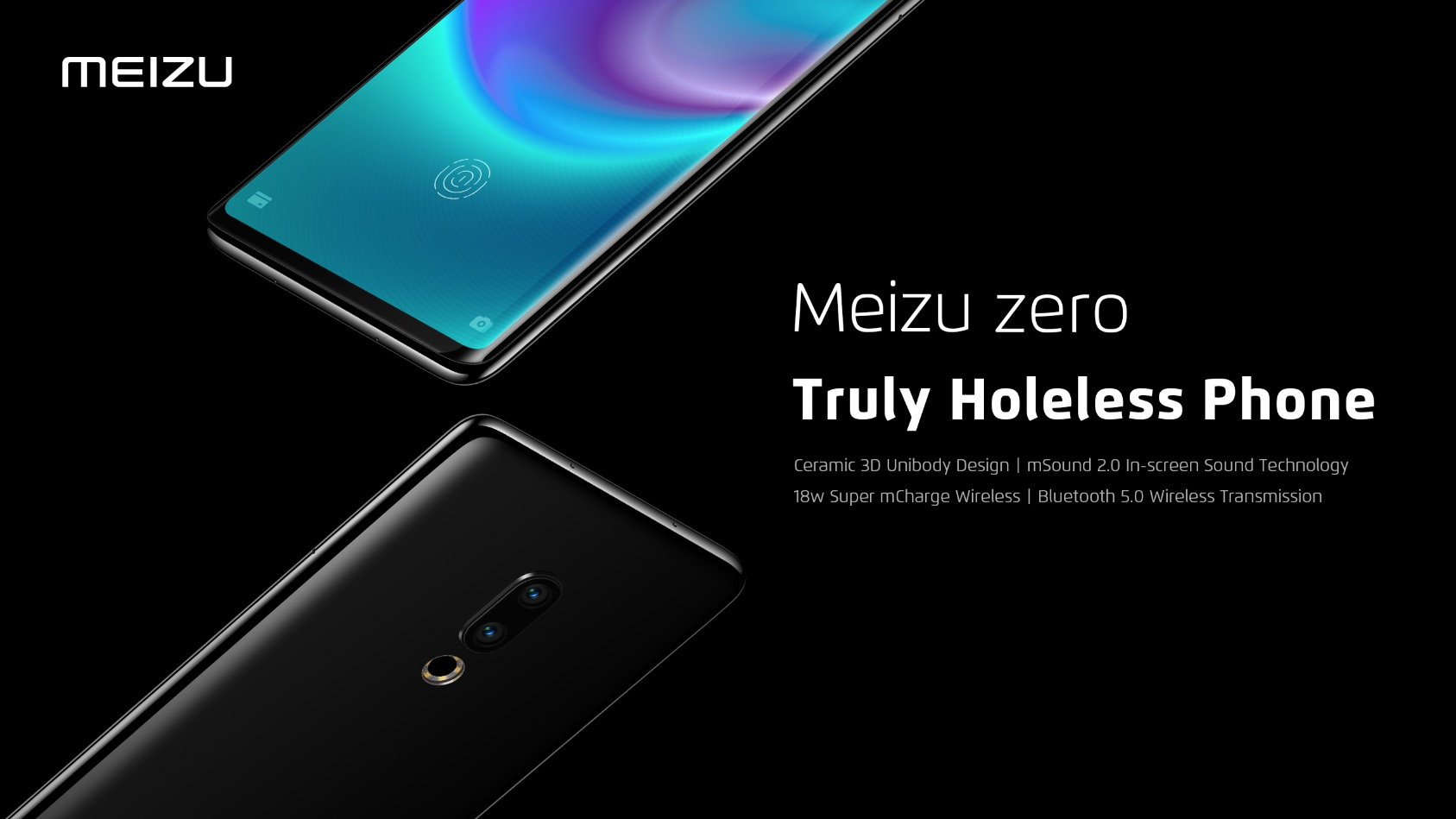 Meizu Zero Holeless phone
