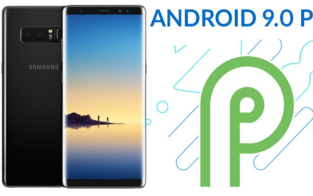 Note 8 Android Pie Update