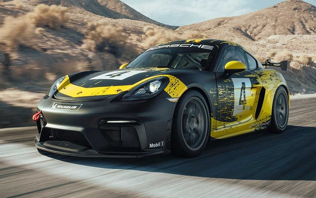 Porsche 718 Cayman GT4 Clubsport Comes with 425 HP