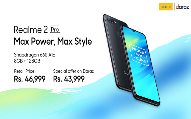Realme to Clarify the Standard Market Prices with Daraz Exclusive Prices