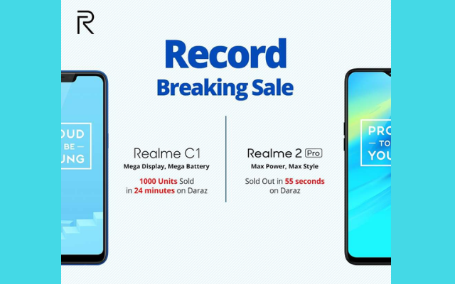 Record Breaking Realme Sales