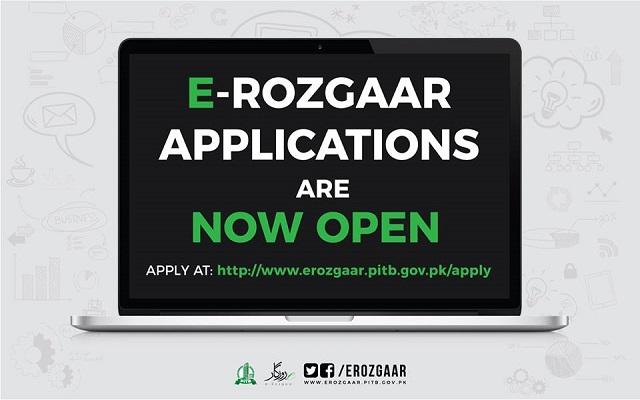 PITB Opens Applications for e-Rozgaar Training Program