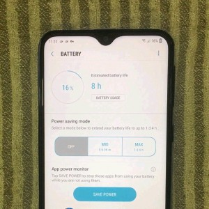 Samsung Galaxy M20 Battery Life Seems Really Good