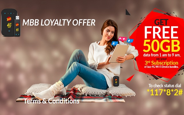 Jazz Mbb Loyalty Offer Gives You 50gb Extra Volume On Every 3rd Subscription Phoneworld