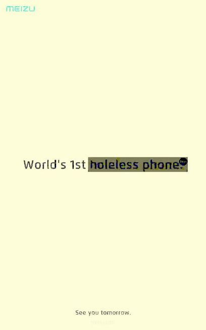 This is the World's First Holeless Phone-