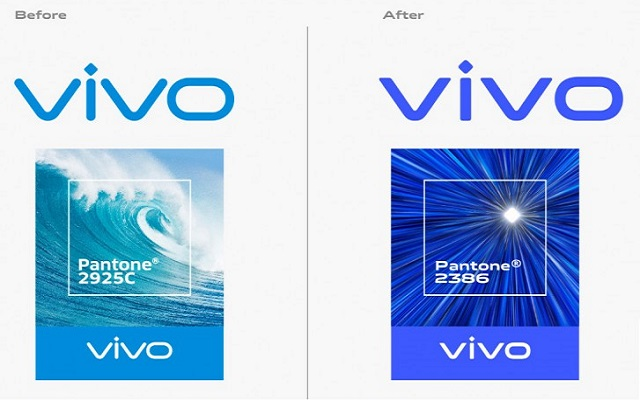 vivo redesign its logo