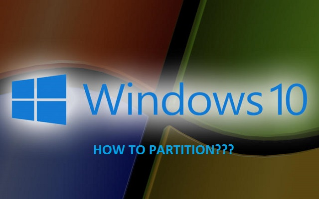 Here Is How To Make Partitions In Windows 10