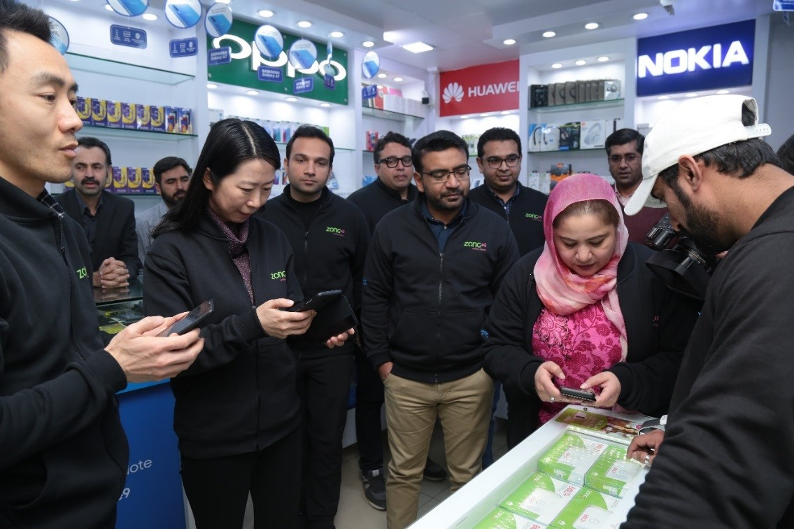 Zong 4G Celebrates Customer Experience Day