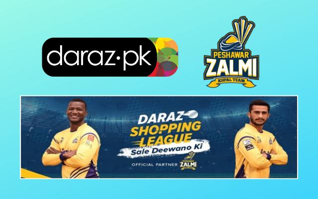 Daraz and Peshawar Zalmi