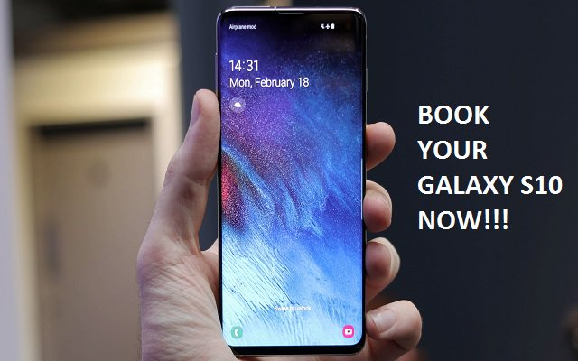 Discount on Galaxy S10