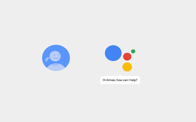 Google Assistant Receives a Button