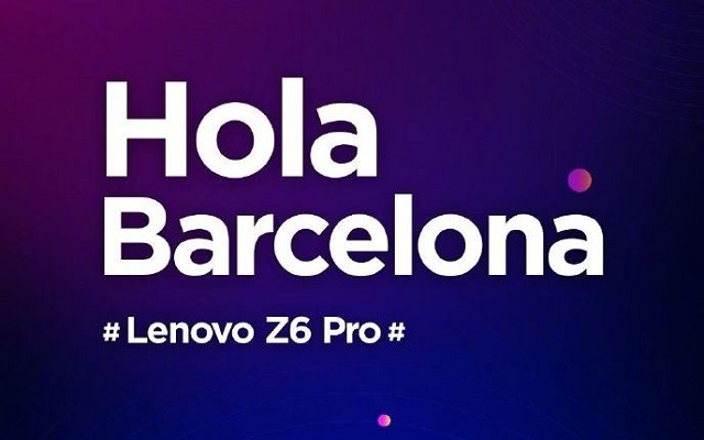 Photo of Lenovo Z6 Pro Teased to Launch at MWC 2019