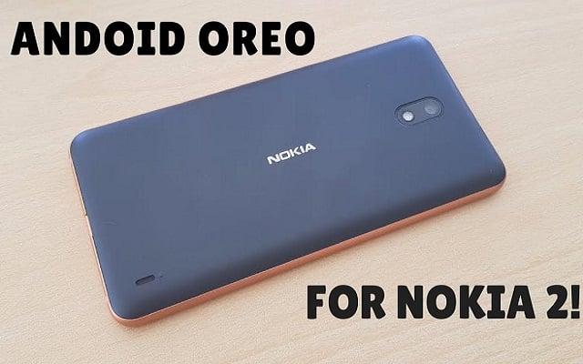 Nokia 2 Android Oreo Update