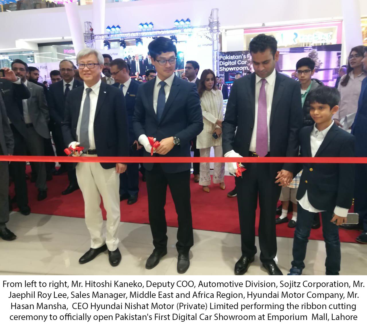 Hyundai Unveils Pakistan's First Digital Auto Store