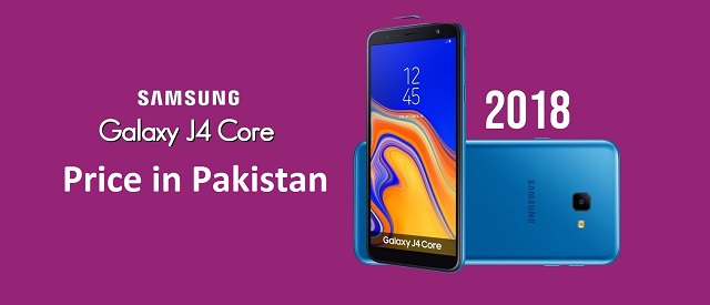 Samsung Galaxy J4 Core Price in Pakistan