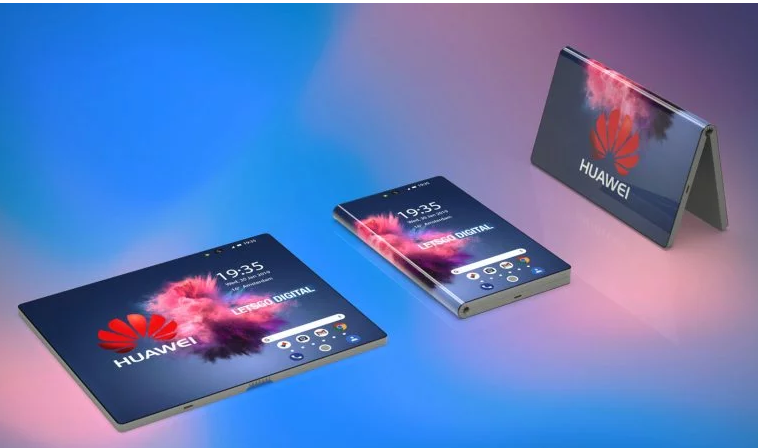 Huawei 5G Foldable Phone's 3D Renders Surfaced Online