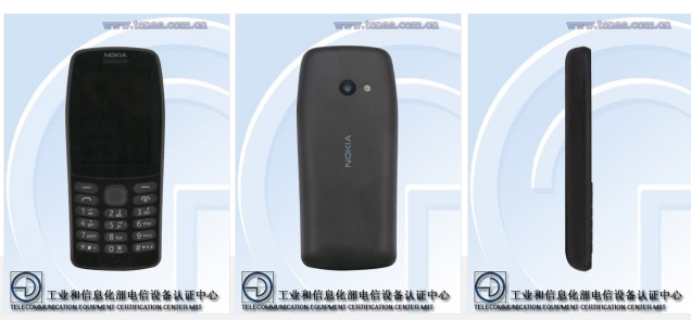 A New Nokia Feature Phone Stars At TENAA