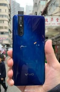 Vivo V15 Pro Blue Variant Stars In A Live Image