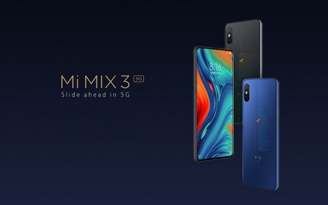 Xiaomi Mi Mix 3 5G Debuts With A Sliding CameraXiaomi Mi Mix 3 5G Debuts With A Sliding Camera