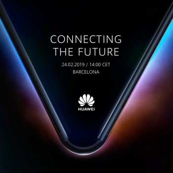 Huawei 5G Foldable Phone Teased Ahead Of Launch
