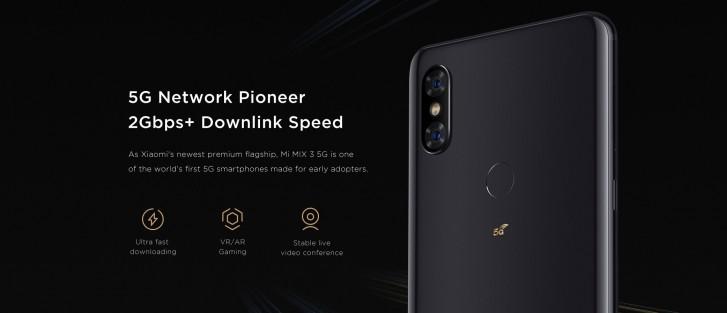 Xiaomi Mi Mix 3 5G Debuts With A Sliding Camera