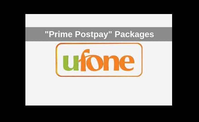 Now Get the Freedom of Making Your Own Bundle with Ufone Prime Postpay Packages