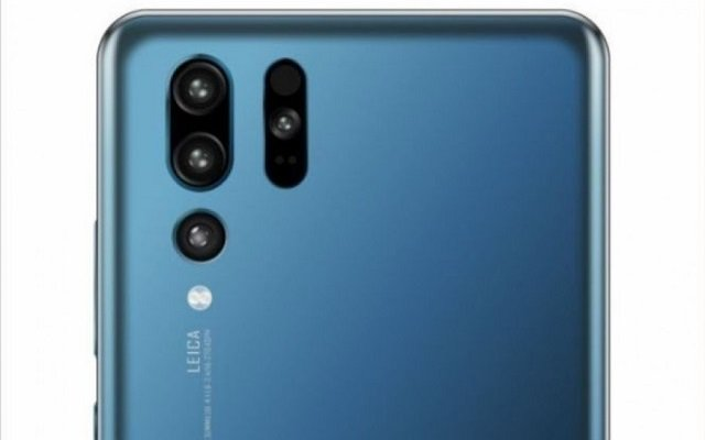 Huawei P30 Pro Quad Camera Setup Confirmed in an Official Image