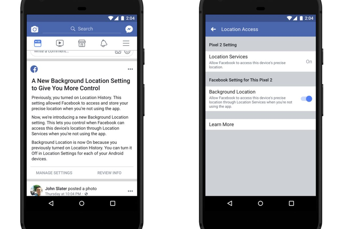 Now Block Background Location Tracking on Facebook for Android