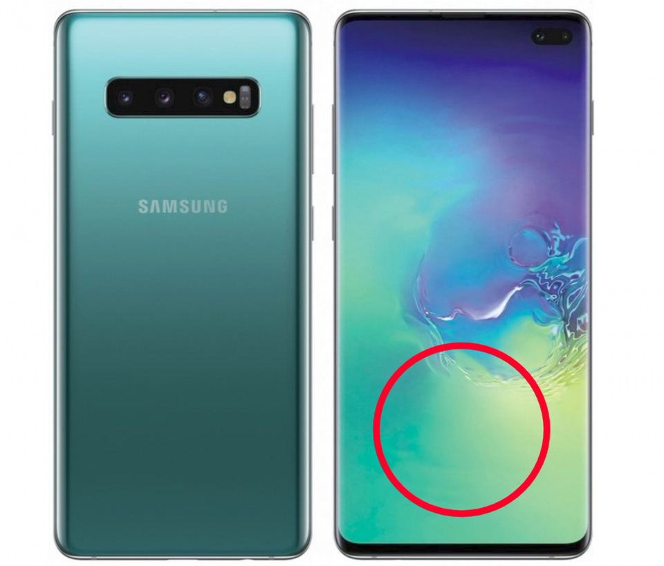 Samsung S10 Screen has a Serious Problem- Leak Reveals