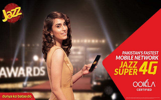 Jazz Cements its Position as the Fastest Mobile Network Following a second Ookla Award