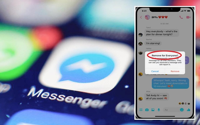 Facebook Messenger Unsend Option will Save many Relationships: Here's Here is How to Use it