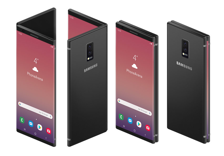 Samsung Foldable Phone is The Most Ugliest Creature- Official Pictures Revealed