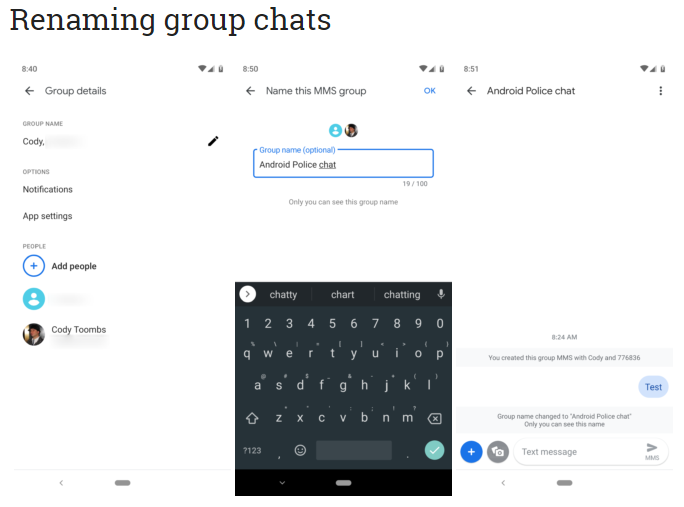 Google Messages Latest Update Brings Color Changes For Contacts