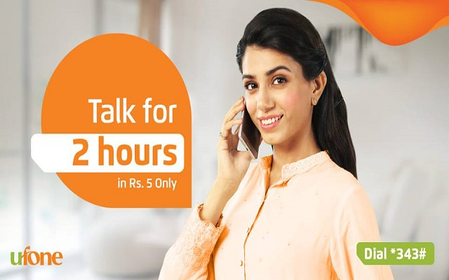 Now make Long Calls With Ufone 3 Pe 3 Offer