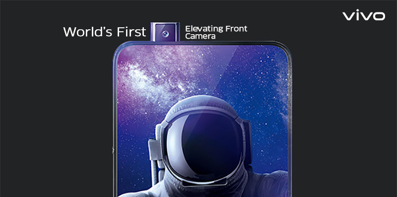 Vivo's Industry First Elevating Front Camera