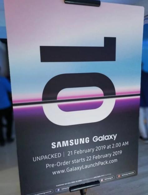Samsung To Begin Galaxy S10 Pre-orders On Feb 21