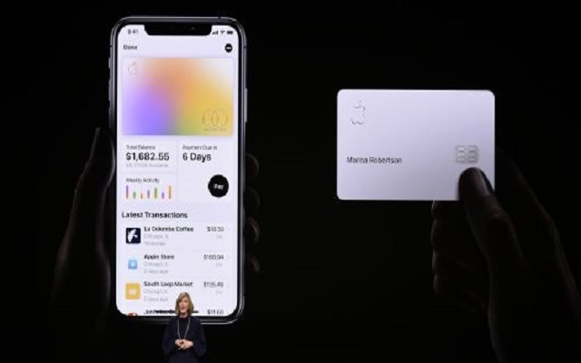 Another status Symbol, Apple Credit Card Launches for People