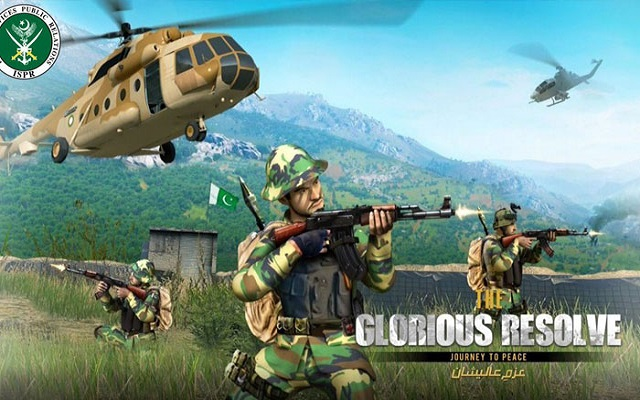 Brace Yourselves For Glorious Resolve- An ISPR's Game That Lets You Experience How Soldiers Fight