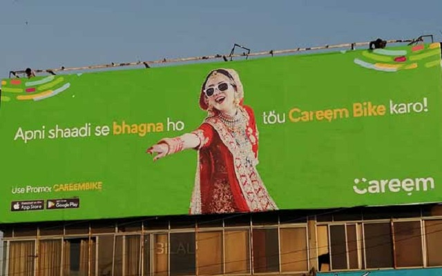 Petition Filed against Careem Pakistan over Immoral Billboard Campaign