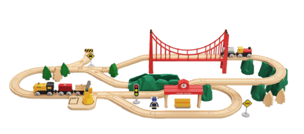 Mi Toy Train Set: